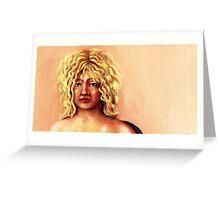 portrait of    yoyo Greeting Card
