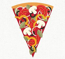Pizza Power - Vegetarian Version by daisy-beatrice
