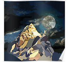 Night Mountains No. 10 Poster