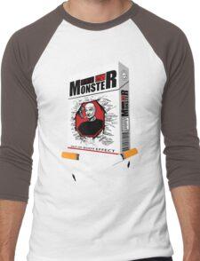 "Smocke: Dharma ""Monster"" Brand Smokes Men's Baseball ¾ T-Shirt"