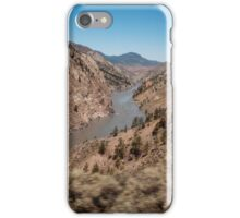 Vast differences in Canadian scenery iPhone Case/Skin