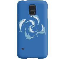 School of Happy Sharks Samsung Galaxy Case/Skin