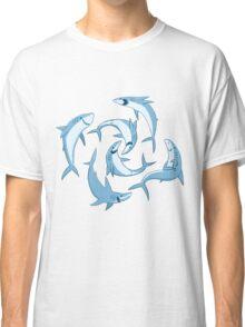 School of Happy Sharks Classic T-Shirt