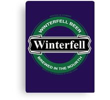 winterfell beer Canvas Print