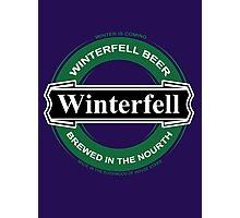 winterfell beer Photographic Print