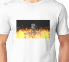 Terminator T-800 In Flame Unisex T-Shirt