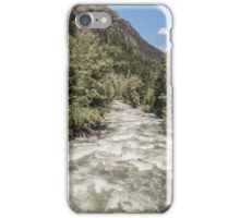 Vast differences is Canadian scenery iPhone Case/Skin