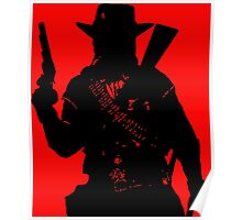 Cowboy Silhouette Poster