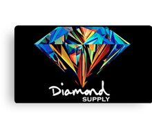 Diamond Supply Colourful Diamond Canvas Print