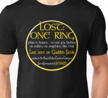 Lost: One Ring Unisex T-Shirt