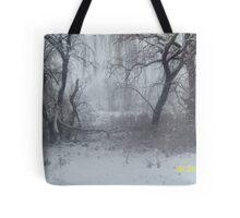 Snow Scene 2 Tote Bag