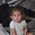 Infant in rural Mexico by Dwight Berry