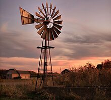 Ohio Windmill by Rachel Leigh