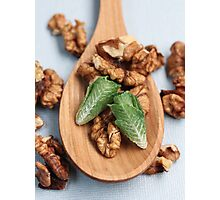 Lettuce & Walnuts Photographic Print