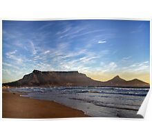 Cape Town: Table Mountain Poster