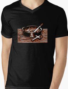 Cigarettes and God. Mens V-Neck T-Shirt