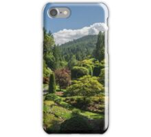 Butchart Gardens, Victoria, Canada 1 iPhone Case/Skin