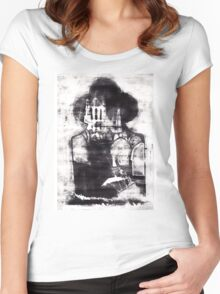 Dracula's Whitby Women's Fitted Scoop T-Shirt