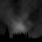 The London Blackout in Technicolor by Mel Harrison