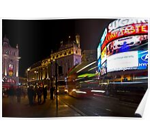 Late Night at Piccadilly Circus Poster