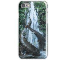 Fountain, Butchart Gardens, Victoria, Canada iPhone Case/Skin