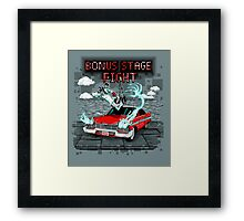 Bonus Stage Framed Print