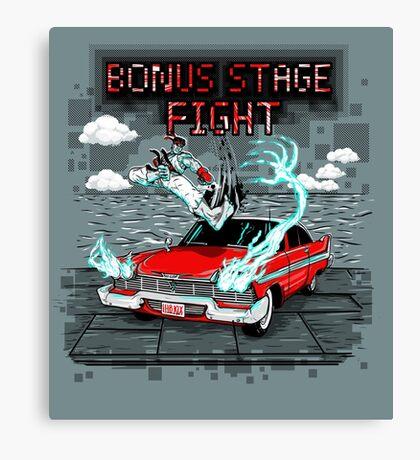 Bonus Stage Canvas Print