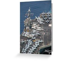 USS JFK Greeting Card