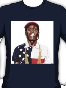 Abstract ASAP Rocky Tee | 2015 T-Shirt