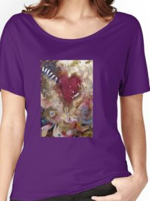 'Raw'- Jeff Buckley  (No. 3 in the Rock Music Art Series) Women's Relaxed Fit T-Shirt