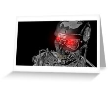 Terminator T-800 Greeting Card
