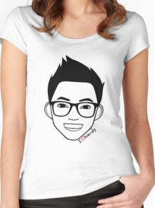 I Love Nerds Women's Fitted Scoop T-Shirt