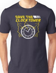 Clock tower Funny Humor Hoodie / T-Shirt Unisex T-Shirt