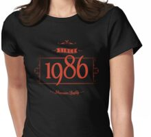 Since 1986 (Red&Black) Womens Fitted T-Shirt