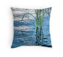 Reed Reflections #2 Throw Pillow