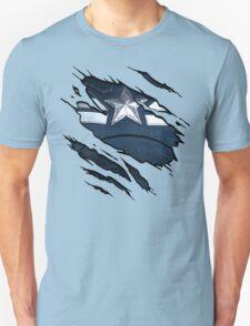 Scratched Up Cap T-Shirt