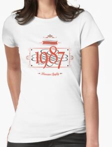 Since 1987 (Red&Black) T-Shirt