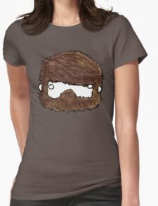 My Face, Your Chest Womens Fitted T-Shirt