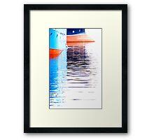 Trawlers Framed Print