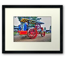 Steam Project 2 Framed Print