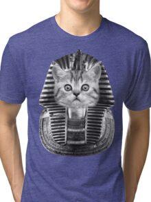 Pharaoh Kitteh Tri-blend T-Shirt