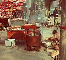 Street Food in Beijing by KrossKiwi