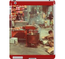 Street Food in Beijing iPad Case/Skin