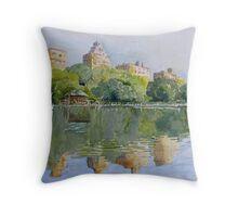 New York.. where dreams are made of...... Throw Pillow