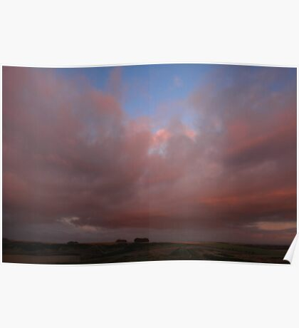 Cloud Waves Poster