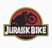 JURASSIC BIKE vintage motorcycle Kids Clothes