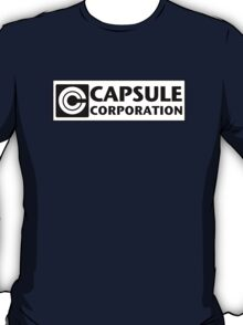 DBZ Capsule Corporation Company // DragonBall Z T-Shirt