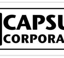 DBZ Capsule Corporation Company // DragonBall Z Sticker