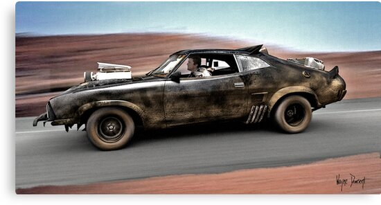 MAD MAX THE ROAD WARRIOR by Wayne Dowsent