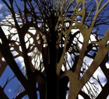 The Rusty Tree Sticker